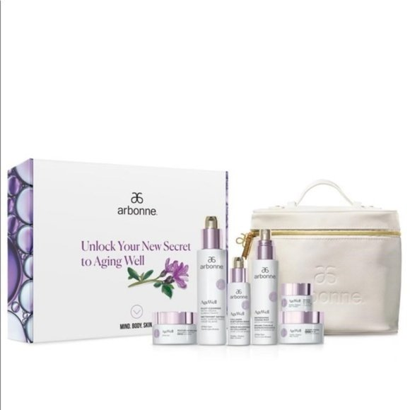 Arbonne AgeWell Age well Set With Gift Bag